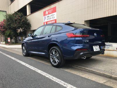 トリプル木村の高級車レンタカー配達日記143~BMW X4~