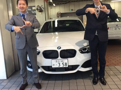 トリプル木村の高級車レンタカー配達日記145~BMW 118d Edition Shadow~