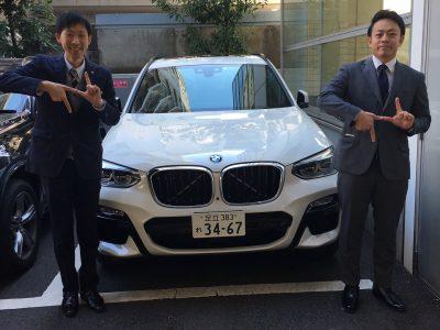 トリプル木村の高級車レンタカー配達日記144~BMW X3~