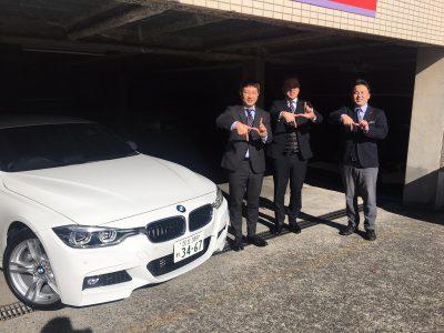 谷畑任三郎の高級車レンタカー配達日記141~BMW 318iツーリング Mスポーツ~