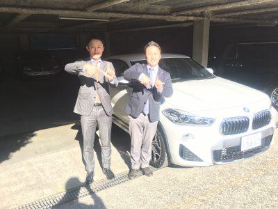 谷畑任三郎の高級車レンタカー配達日記140~BMW X2 sDrive 18i MスポーツX ~
