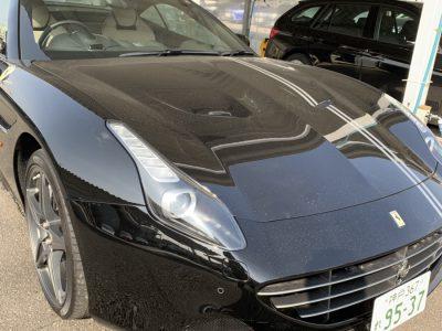 谷畑任三郎の高級車レンタカー配達日記145~フェラーリ カリフォルニアT~
