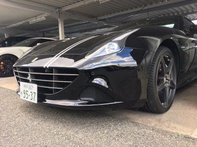 谷畑任三郎の高級車レンタカー配達日記143~フェラーリ カリフォルニアT~