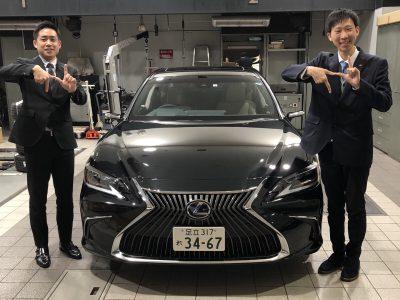 トリプル木村の高級車レンタカー配達日記150~レクサス ES300h~