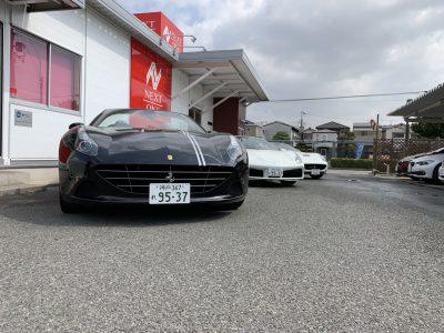 谷畑任三郎の高級車レンタカー配達日記148~フェラーリ3車種~