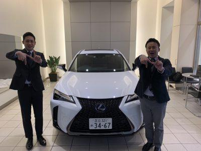 谷畑任三郎の高級車配達日記150~レクサス UX~