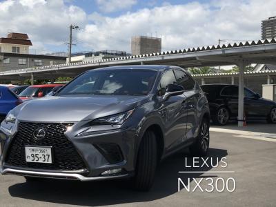 エリーの高級車レンタカー配達日記2〜LEXUS・NX300〜