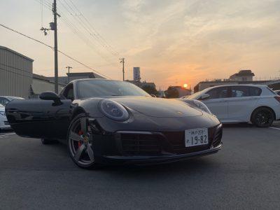 〜あすかの高級車レンタカー配達日記 ① PORSCHE 911 Carrera S〜