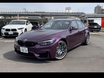 ヘルプ吉村の高級車レンタカー配達日記151〜BMW M3コンペティション〜