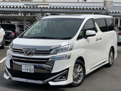 ヘルプ吉村の高級車レンタカー配達日記153〜トヨタ ヴェルファイア〜