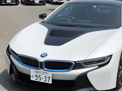 こーせーの高級車レンタカー配達日記1〜BMW・i8〜
