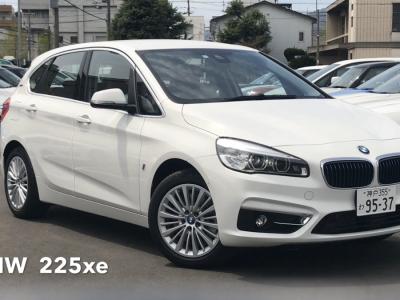エリーの高級車レンタカー配達日記1〜BMW・225xe〜