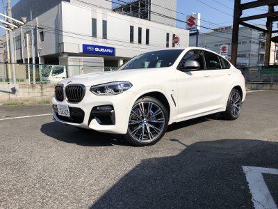 トリプル木村の高級車レンタカー配達日記154~BMW X4 M40i~