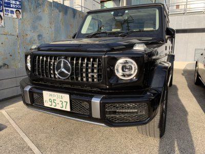 谷畑任三郎の高級車レンタカー配達日記151~メルセデス・ベンツG63~