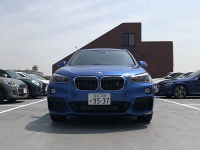 クリス二瓶の高級車レンタカー配達日記91 BMW X1
