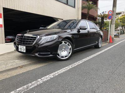 谷畑任三郎の高級車レンタカー配達日記154~メルセデス・ベンツS550マイバッハ~
