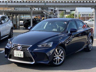 ヘルプ吉村の高級車レンタカー配達日記156〜レクサス IS300h〜