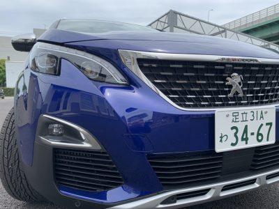 あすかの高級車レンタカー配達日記⑥〜PEUGEOT 3008〜
