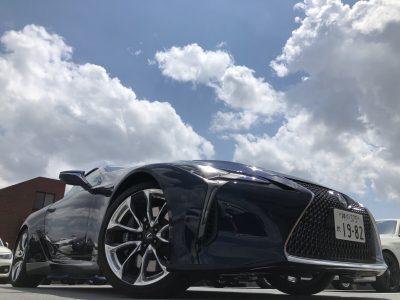 じゅんちゃんの高級車レンタカー配達日記2~レクサス LC500h~