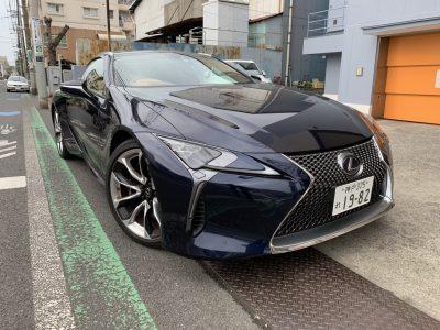 谷畑任三郎の高級車レンタカー配達日記155~レクサス LC500h~