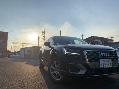 あすかの高級車レンタカー配達日記⑩〜Audi Q2〜