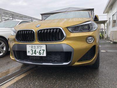 ひでぼう田辺の高級車レンタカー配達日記10〜 BMW X2 〜
