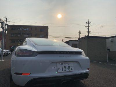 【あすか】の高級車レンタカー配達日記⑨〜PORSCHE 718Cayman〜