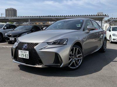 ヘルプ吉村の高級車レンタカー配達日記158〜レクサス IS300h〜