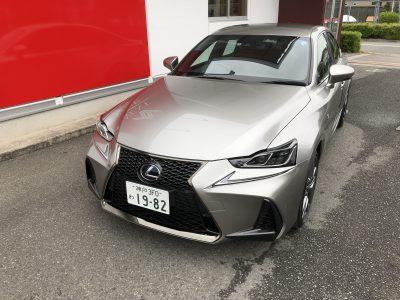 ひでぼう田辺の高級車レンタカー配達日記8 レクサス IS300h