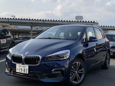 ヘルプ吉村の高級車レンタカー配達日記160〜BMW 218i Active Tourer〜