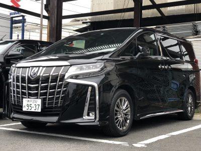 こーせーの高級車レンタカー配達日記9〜トヨタ アルファード~