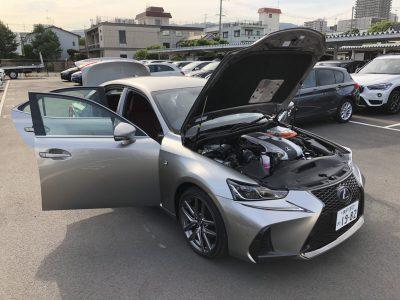 おじいちゃんの高級車レンタカー配達日記8~レクサス IS300h~