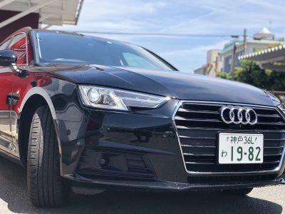 タンメン樫原の高級車レンタカー配達日記96 Audi A4avant