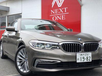 タンメン樫原の高級車レンタカー配達日記98 BMW 523d  Luxury