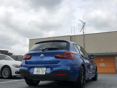 クリス二瓶の高級車レンタカー配達日記104〜BMW 118i〜