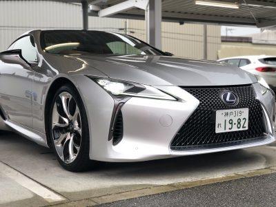 タンメン樫原の高級車レンタカー配達日記 102 LEXUS LC500h Spackage