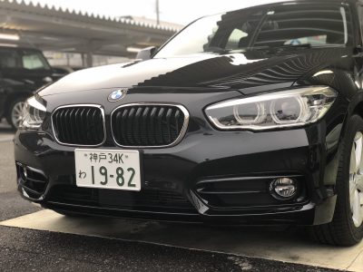 タンメン樫原の高級車レンタカー配達日記100 BMW 118i