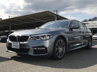 エリーの高級車レンタカー配達日記12~BMW・523i Mスポーツ~