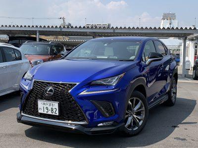 ヘルプ吉村の高級車レンタカー配達日記162〜レクサス NX300 Fスポーツ〜