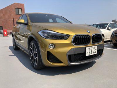 じゅんちゃんの高級車レンタカー配達日記8~BMW X2 xDrive 20i MスポーツX~