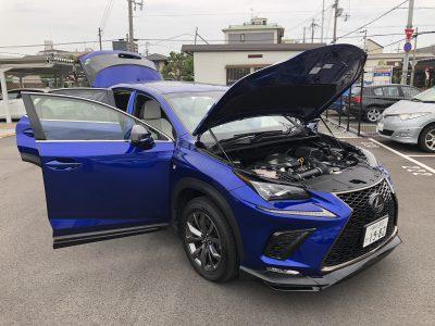 おじいちゃんの高級車レンタカー配達日記13~レクサス NX300 Fスポーツ(TRDエアロ装備)~