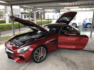 おじいちゃんの高級車レンタカー配達日記14~メルセデス・ベンツ AMG GT-S AMGエクステリアクローム&インテリアカーボンPkg~