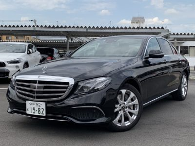 ヘルプ吉村の高級車レンタカー配達日記165~メルセデス・ベンツ E450 4MATIC~