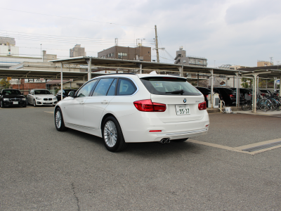 クリス二瓶の高級車レンタカー配達日記106 BMW 320iT