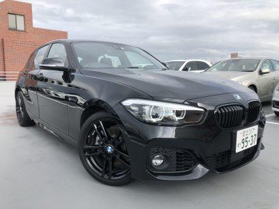 じゅんちゃんの高級車レンタカー配達日記13~BMW 118i EDITIONSHADOW~
