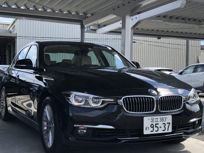 タンメン樫原の高級車レンタカー配達日記105 BMW 318i  Luxury line