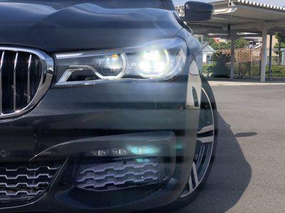 タンメン樫原の高級車レンタカー配達日記108 BMW 750i Msports