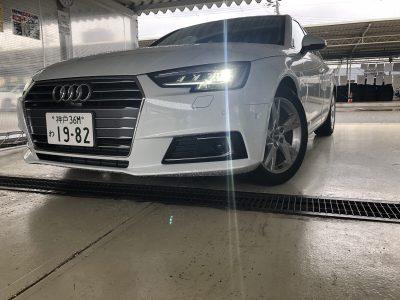 トリプル木村の高級車レンタカー配達日記172~アウディ A4 2.0TFSIスポーツ~