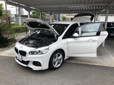 おじいちゃんの高級車レンタカー配達日記18~BMW 218d  アクティブツアラー Mスポーツ~