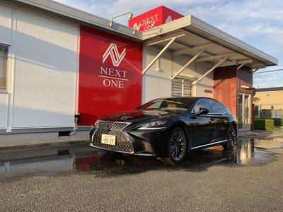 ひでぼう田辺の高級車レンタカー配達日記23〜LEXUS LS500 EXECUTIVE〜
